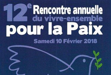 Samedi 10 Février # 12ème Rencontre annuelle du vivre-ensemble